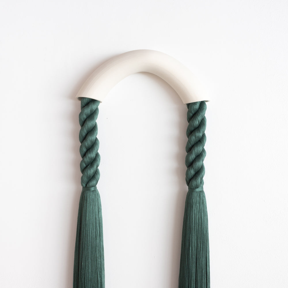 Large Ceramic Arch (Forest Green)