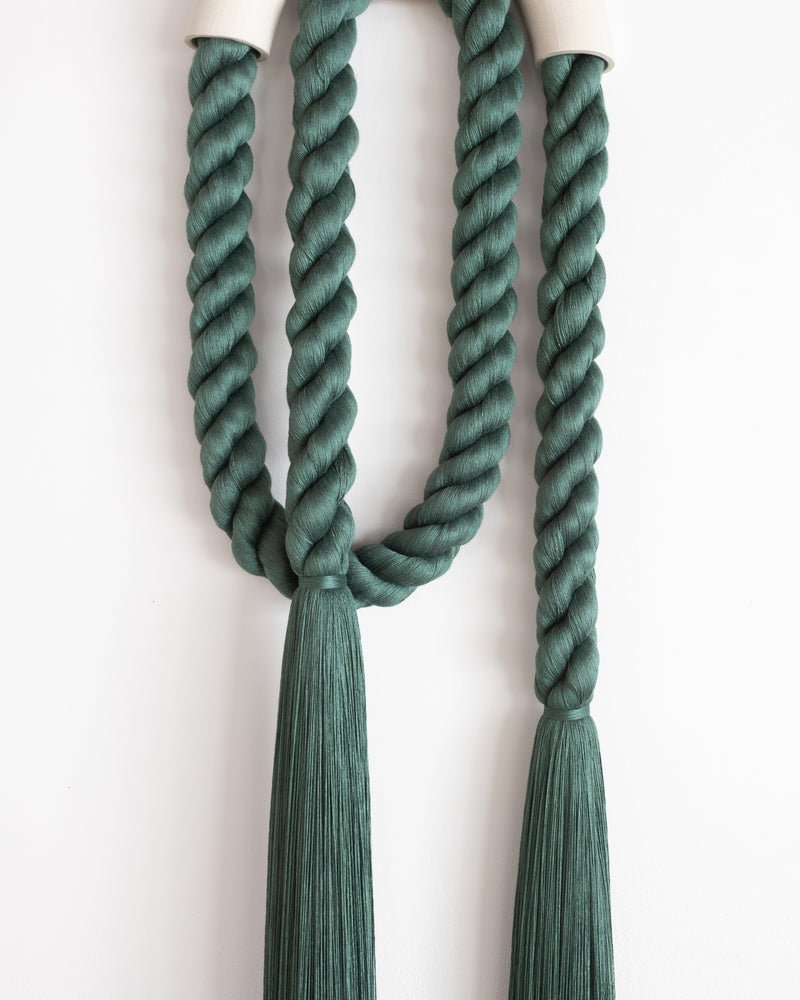 Large Ceramic Arch Loop (Forest Green)