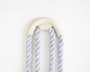 Large Ceramic Arch Loop (Lavender)