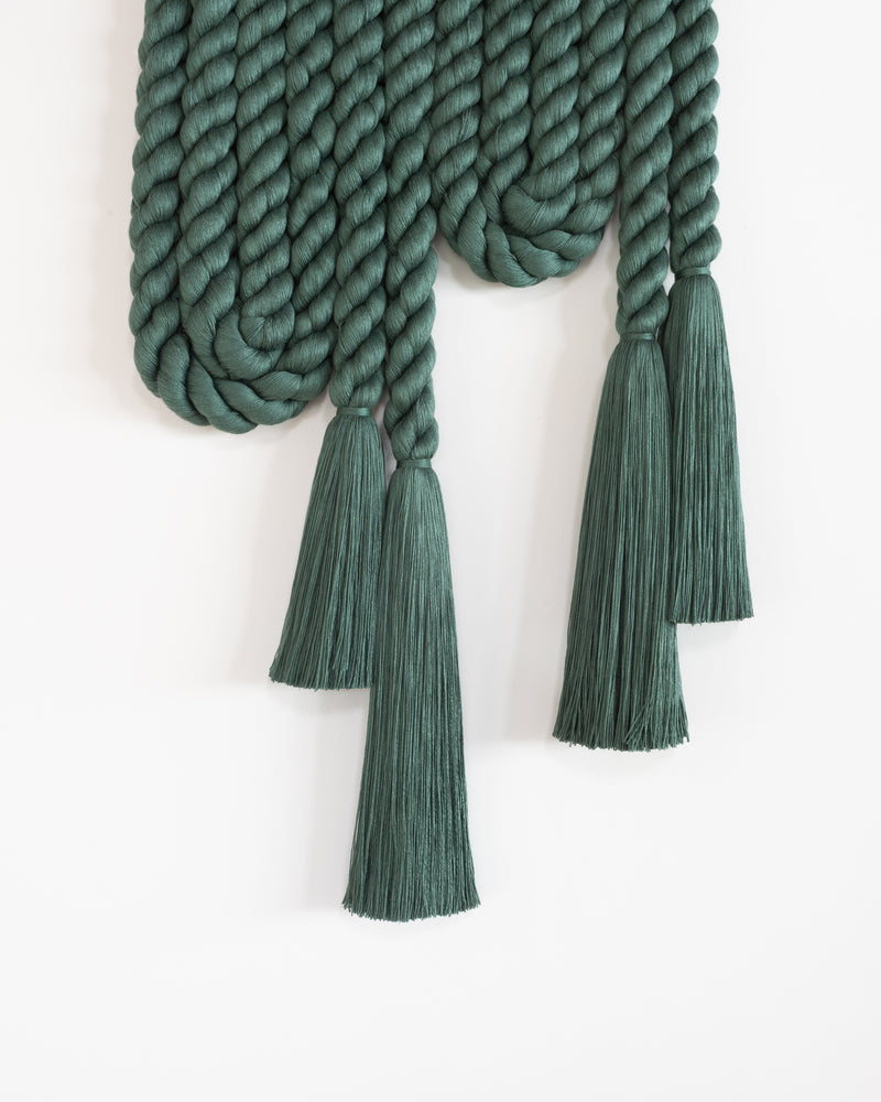 Large Rope Arch (Forest Green)