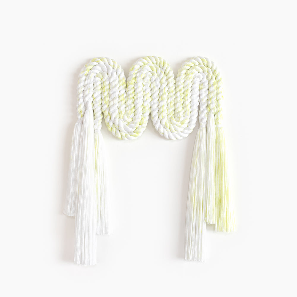 Small Rope Squiggle (Citron)