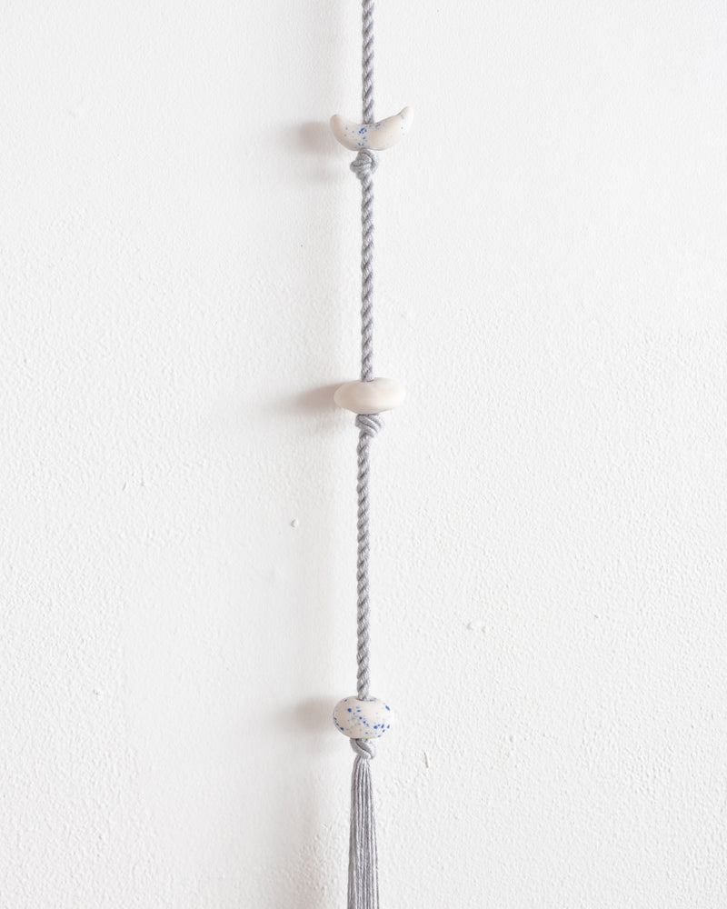 Stacked Hanging (Blue Grey)