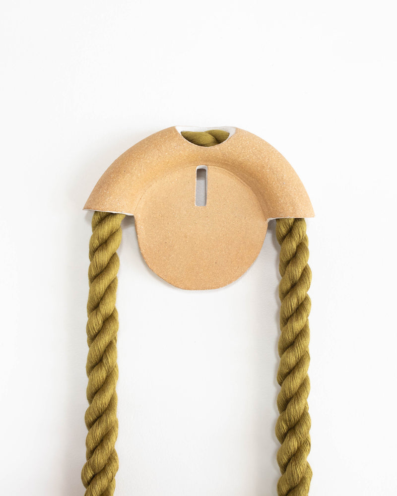 Small Stoneware Sunset Arch (Olive)