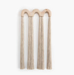 Triple Arch Wood Tassel