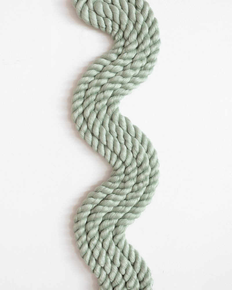 Vertical Rope Squiggle (Sage)