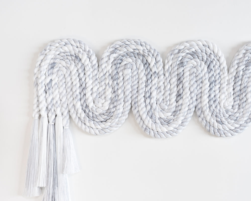 Wide Rope Squiggle (Grey)