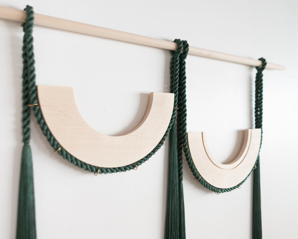 Double Pulley (Forest Green)