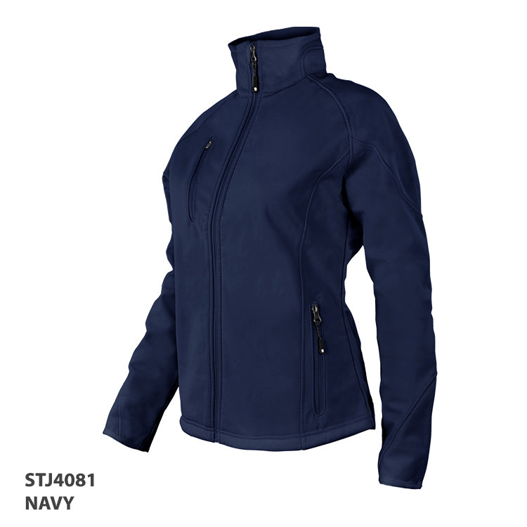 HorseUP Sale - Ladies Navy Softshell Jacket - 4081