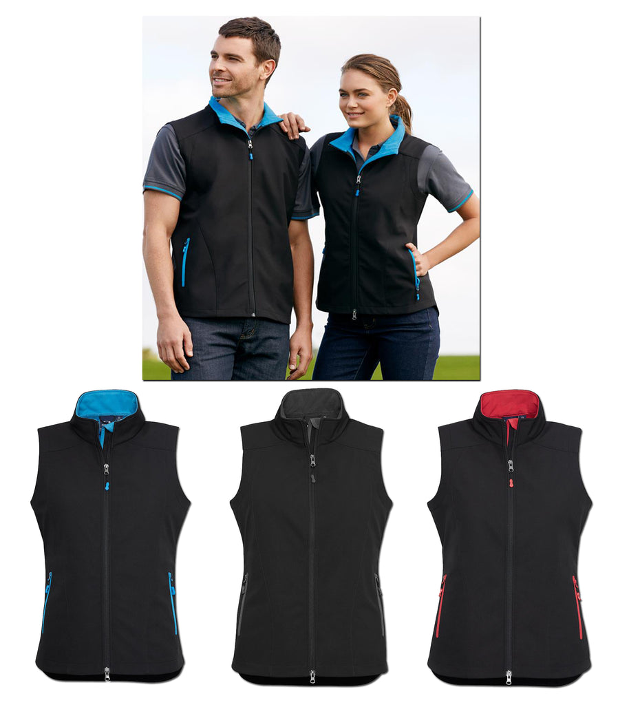 HorseUP Sale - Black/Graphite Geneva vest size Ladies med