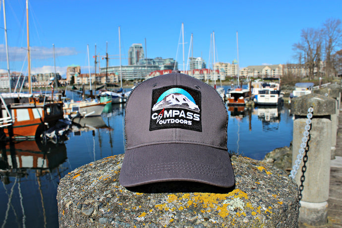 Coastal Grey Trucker Hat