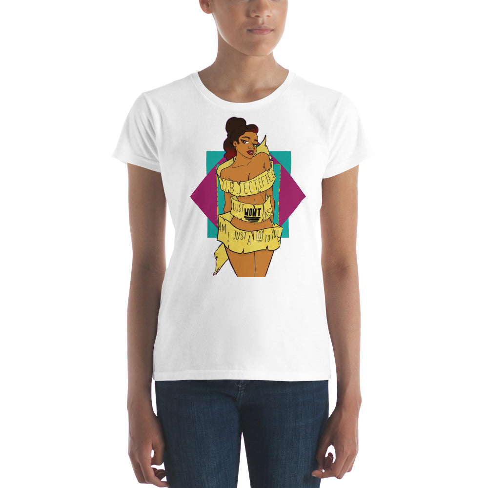 Objectified Women's short sleeve t-shirt