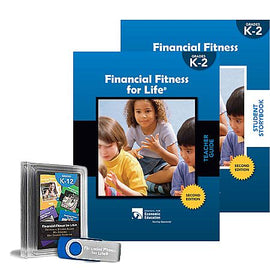Financial Fitness For Life Teacher Package K-2 (Flash Drive)