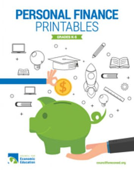 Personal Finance Printables Grades K-5