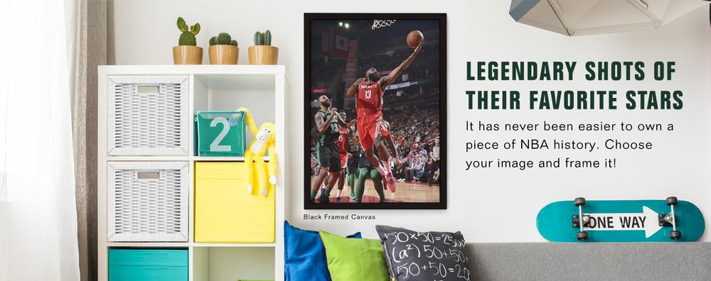 It has never been easier to own a piece of NBA history. Choose your image and frame it!