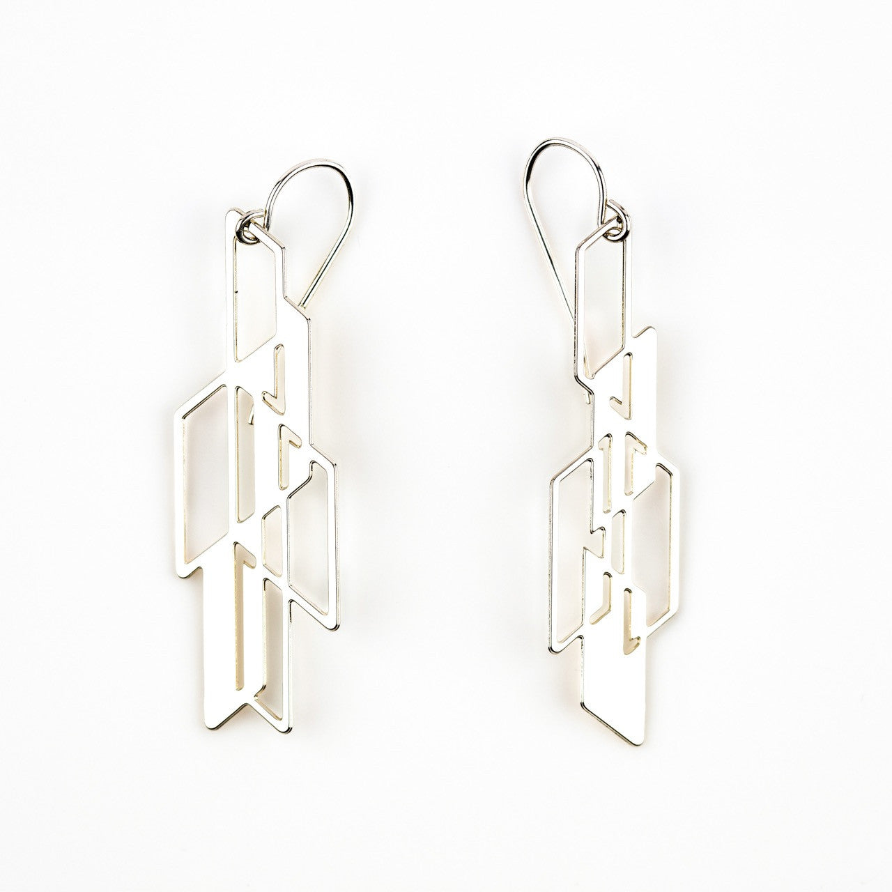 #13 earrings silver
