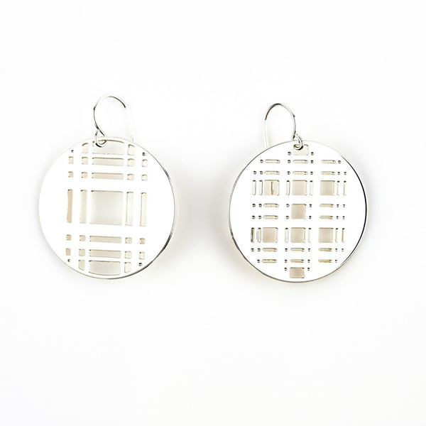 #14 earrings silver