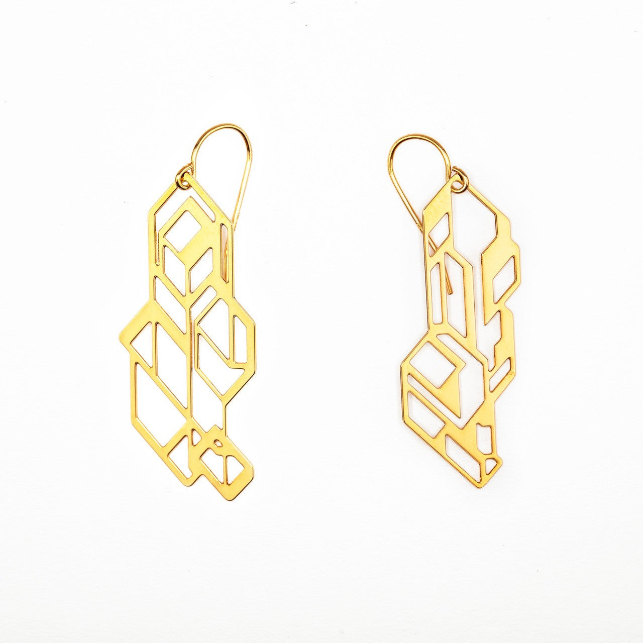 #15 earrings gold