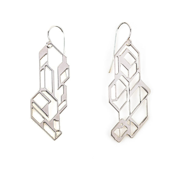 #15 earrings silver