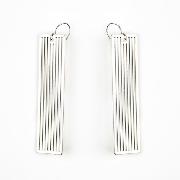 #18 earrings silver