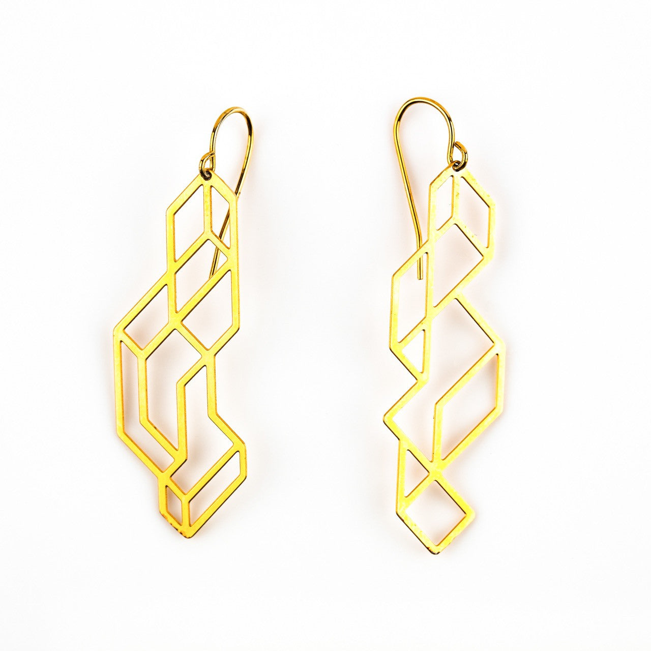 #21 earrings gold