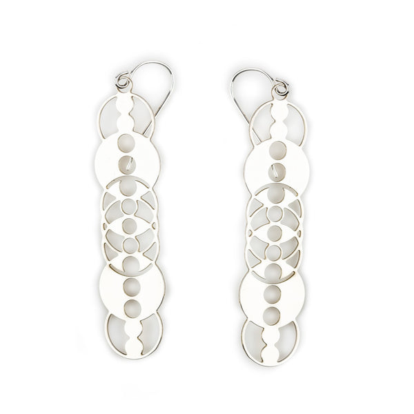 #3 earrings silver
