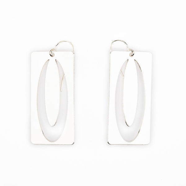 #4 earrings silver
