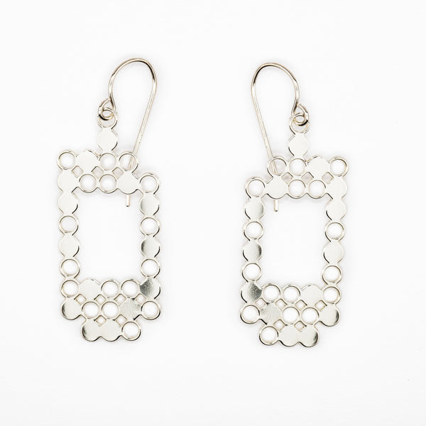 #10 earrings silver
