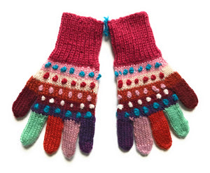 Luxury Kids Alpaca Gloves