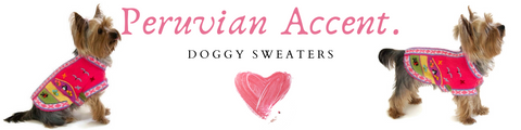 Peruvian Accent Doggy Sweater
