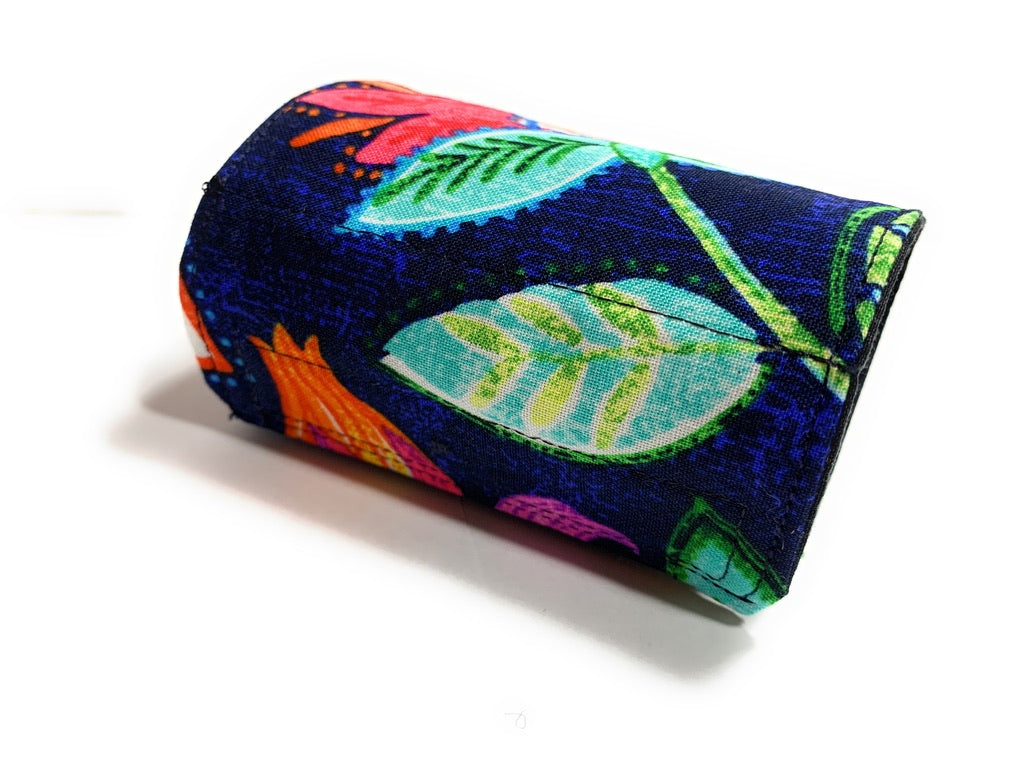 BOHO FLORAL WRIST or ANKLE WALLET