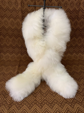 Long Baby Alpaca fur luxury scarf. - Peruvian Accent
