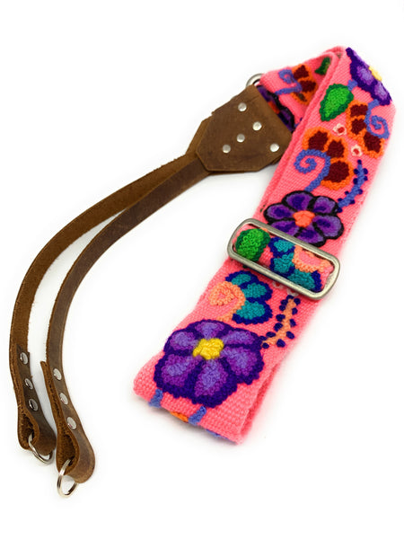 Peruvian Hand Embroidered, handmade Camera Strap. - Peruvian Accent