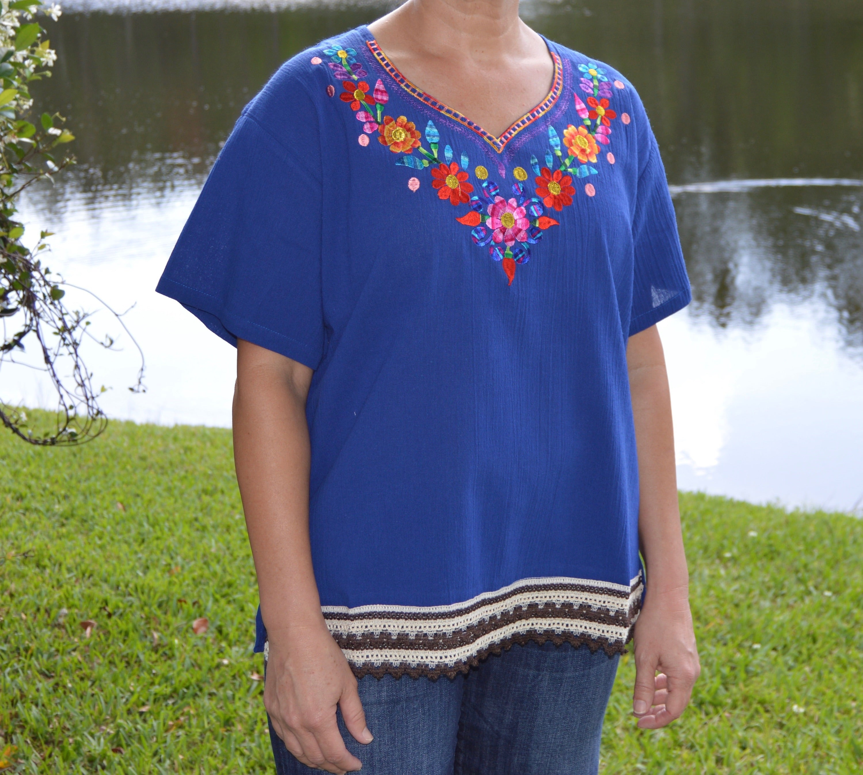 Womens summer top - Peruvian Accent