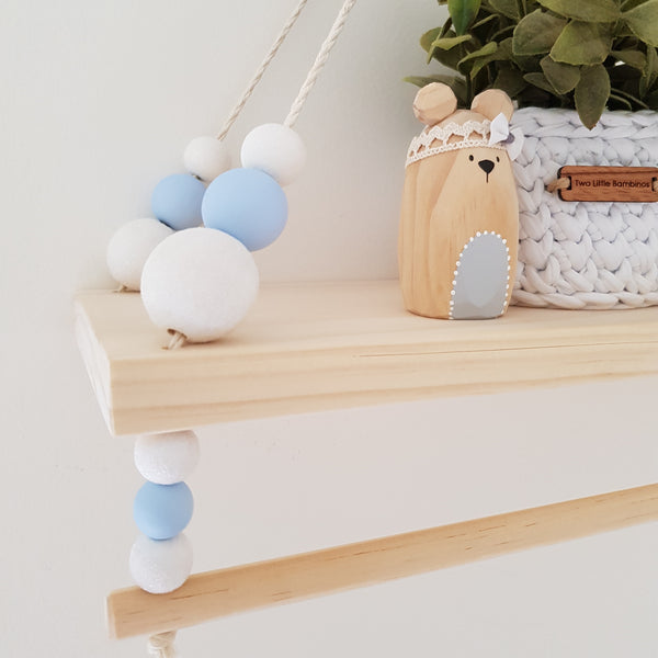 Swing Shelf with Rail