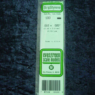 "Evergreen 100 Strip 0.010 x 0.020 x 14"" (10)"