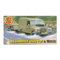 LWB Landrover Hard Top 1:76 scale - Airfix