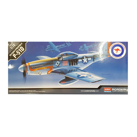 P-51D Mustang 1:72 Scale - Academy *AUST DECALS*