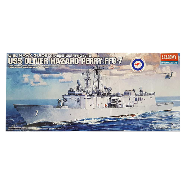 Adelaide Class FFG-7 (USS Oliver Hazard Perry) 1:350 Scale - Academy Aust Decals
