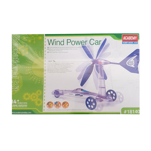 Edukit Wind Powered Car - Academy