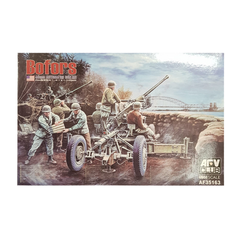 BOFORS 40mm Automatic Gun M1 1:35 scale - AFV Club