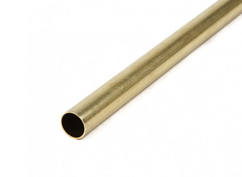 Brass Tube K&S 3925 7mm x 1000mm 0.45mm Wall