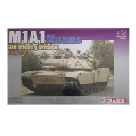 M1A1 Abrams, 3rd Infantry Division (Iraq 2003) 1:72 - Dragon