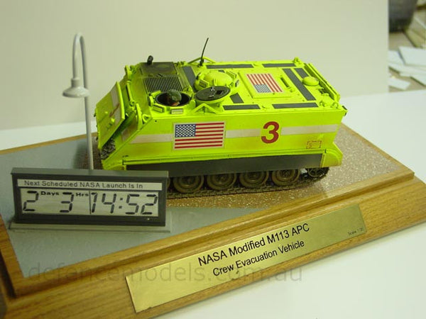 NASA M113 Crew Evacuation Vehicle 1:35 Scale