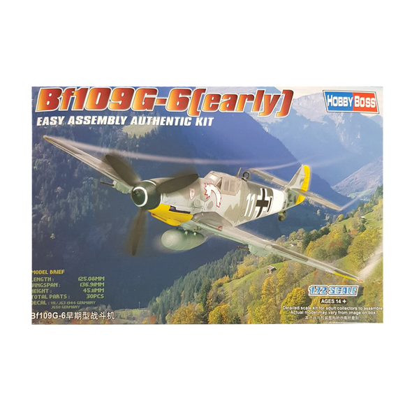 Bf109 G-6 (early) 1:72 - Hobbyboss