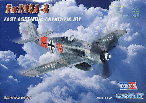 Fw190A-8F Fighter Germany 1:72 - HobbyBoss