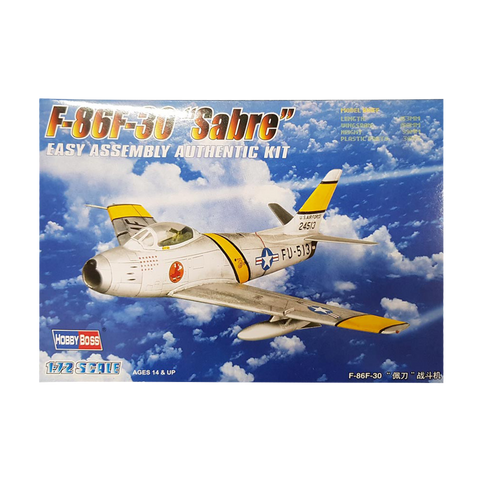 F-86F-30 Sabre Fighter 1:72 - Hobbyboss