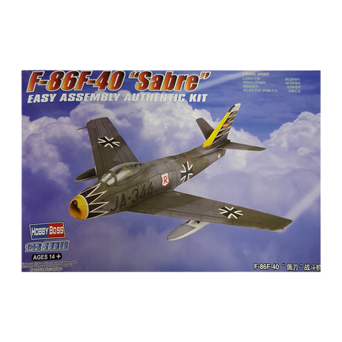 F-86F-40 Sabre Fighter 1:72 - Hobbyboss