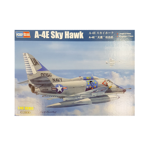 A-4E Sky Hawk 1:48 - HobbyBoss - AUSSIE DECALS Included