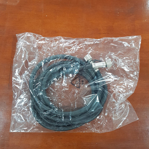 Airbrush Hose, Braided 1.8m dia 7x4mm