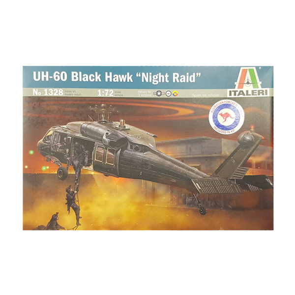 Black Hawk UH-60/MH-60 1:72 - Italeri Aus Decals